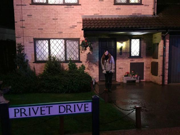 Privet Drive Harry Potter Studio Tour in London