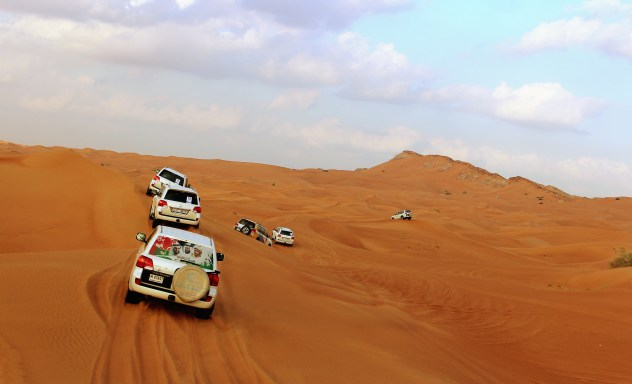 Desert Safari Knight Tours Dubai UAE