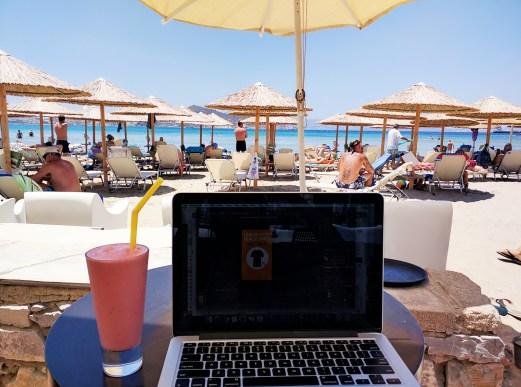 beachside naxos