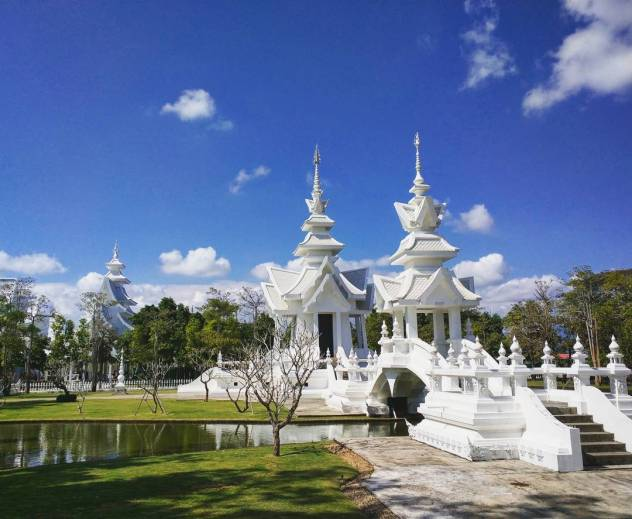 Wat Rong Khun in Chiang Rai Thailand Country 26100 forhellip