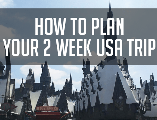 usa trip itinerary