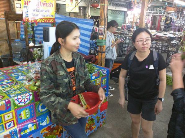 market chiang mai thailand