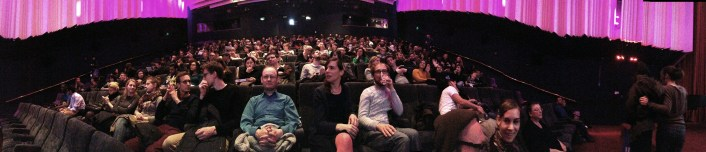 SCREENING ROOM FILLING UP FOR BEST OF THE FESTIVAL LIAF 2013 AWARD CEREMONY