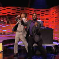 """Will Smith y su hijo Jayden, interpretan el tema principal de """"El Principe del Rap"""", en el programa de Graham Norton"""