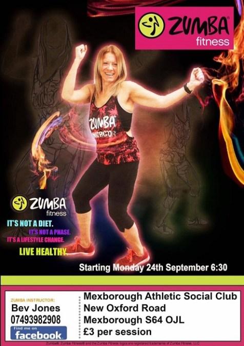 Monday Night is Zymba Night