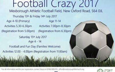 Football Crazy with Mexborough Life Church