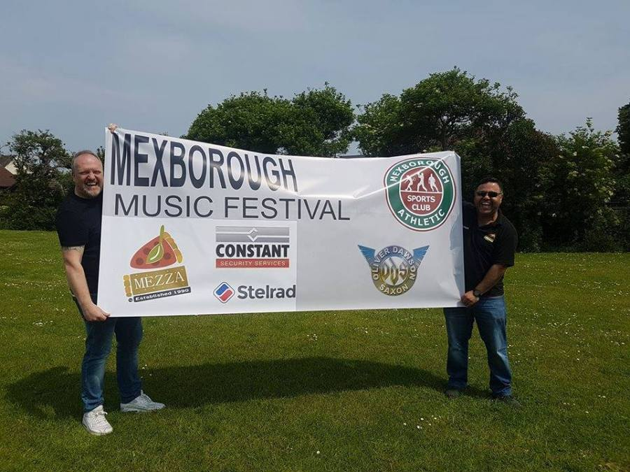 Mexborough Music Festival raises just shot of £1,800