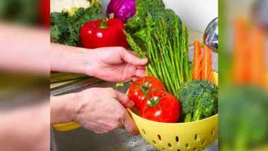 اليك بعض الطرق الصحيحة لغسل الأطعمة لايعرفها الكثيرين