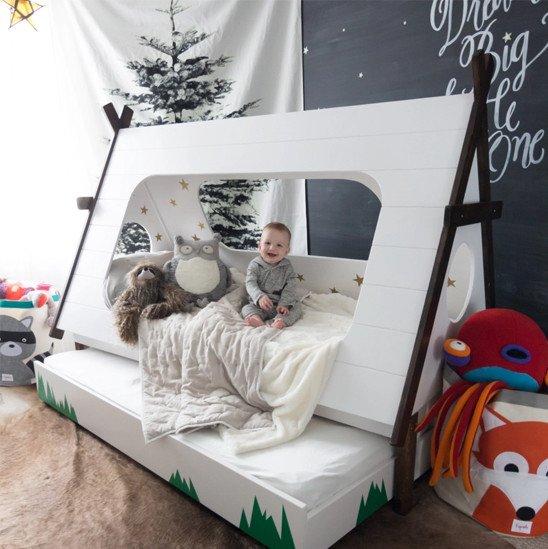 خيمة النوم في الهواء الطلق