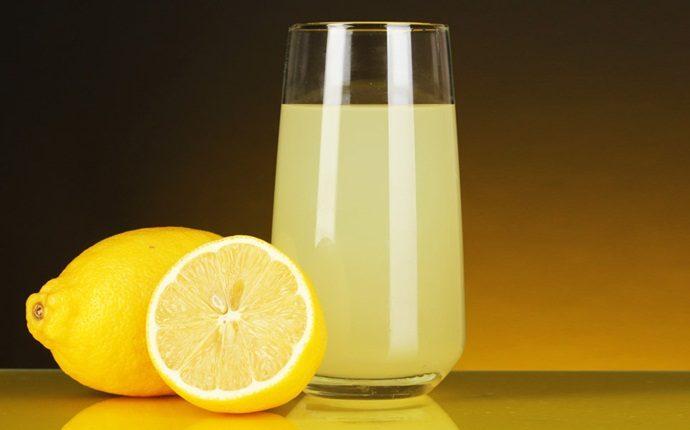 عصير اليمون مع الحناء