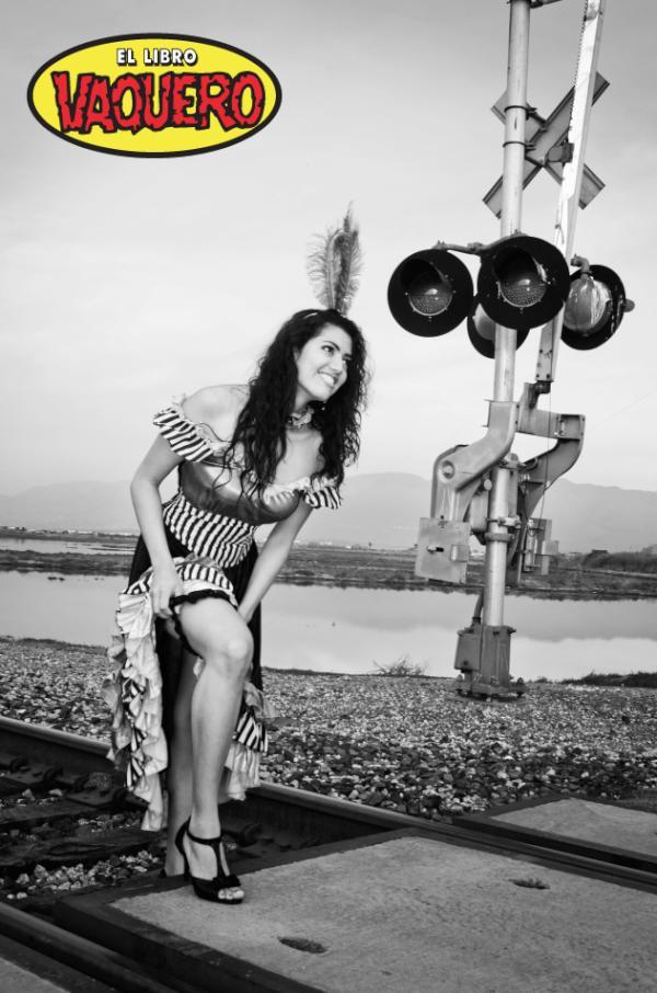 Diana Olivares- Foto tomada de la cuenta oficial de Twitter de @El_LibroVaquero
