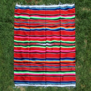 Red Wool Serape