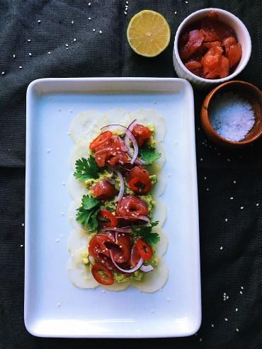 Ceviche de Atún (Tuna Ceviche)