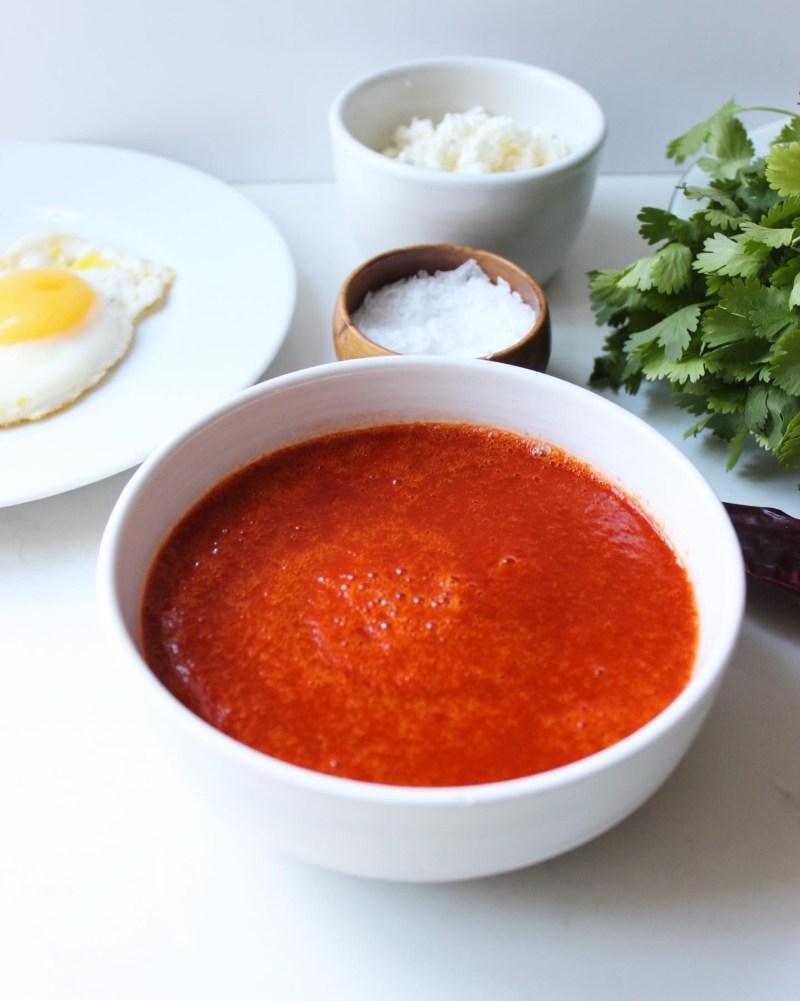 Mexican Food Guajillo Sauce recipe