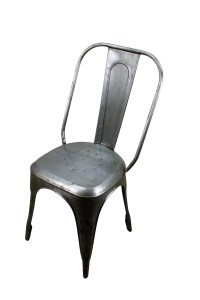 Rustic Dining Furniture Metal Cafe Chair   Mexican Rustic ...