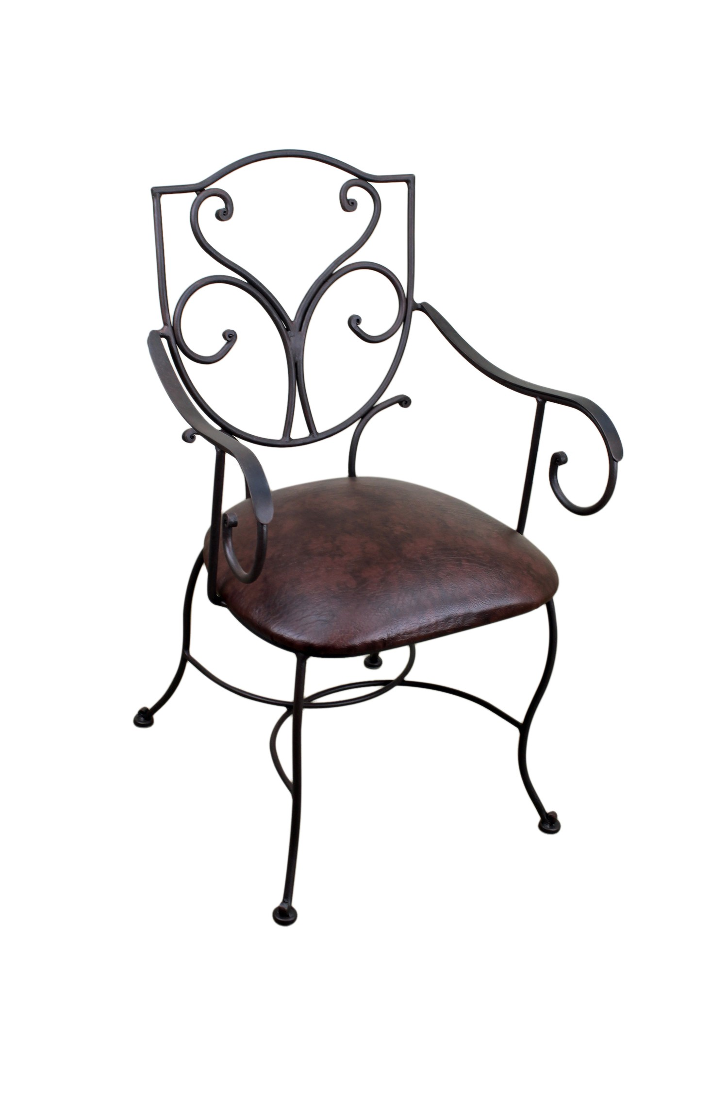 southwest dining chairs director chair covers online australia hacienda iron furniture mexican