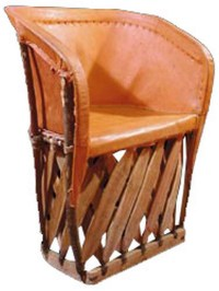 mexican hand crafted equipal chair | Mexican Rustic ...