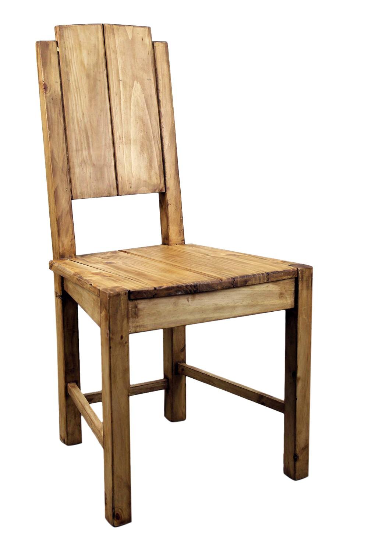 Vera Cruz Pine Rustic Dining Room Chair  Mexican Rustic