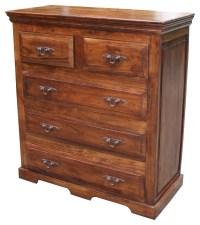 San Miguel 5 Drawer Dresser Tuscan Bedroom Furniture ...