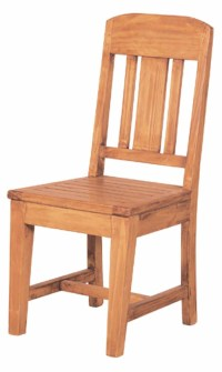 Pine Rustic Dining Chair | Mexican Rustic Furniture and ...