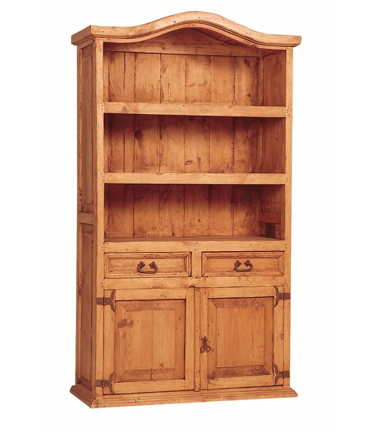Pine Country Bookcase  Mexican Rustic Furniture And Home