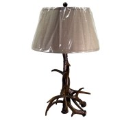 Antler Table Lamp | Mexican Rustic Furniture and Home ...