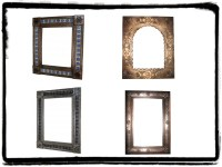 tin mirrors | Mexican Rustic Furniture and Home Decor ...