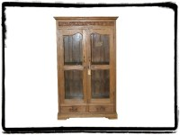 Old World Carved Cabinet | Mexican Rustic Furniture and ...