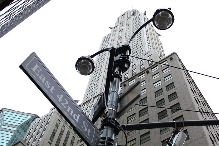 Chrysler Building at 42nd Street by Andrew Tarvin