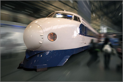 The 'Bullet Train' by Ben Salter