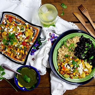 Calabacitas con Maiz or Mexican Zucchini with Corn
