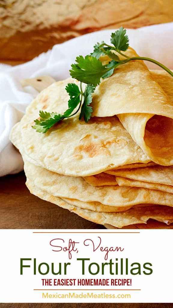 Pleasing How To Make Flour Tortilla Vegan Quick Easy Recipe Interior Design Ideas Clesiryabchikinfo