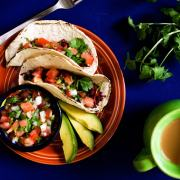 Soyrizo Tacos with Fresh Pico de Gallo Salsa