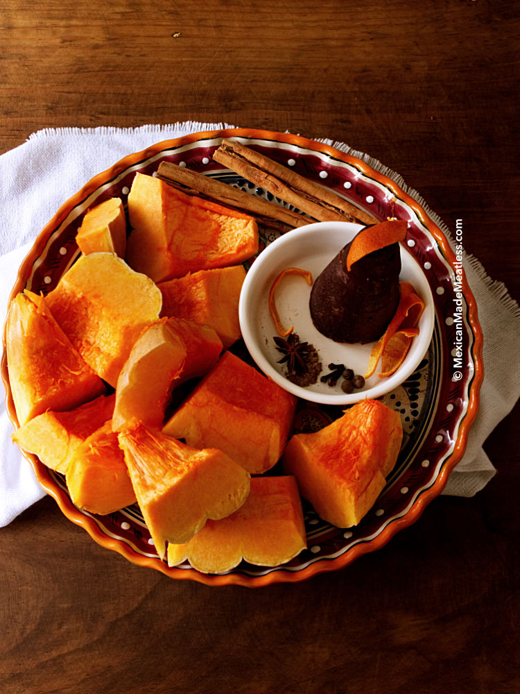 How to Make Mexican Sweet Pumpkin for Day of The Dead