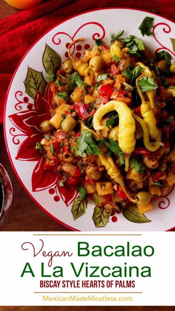 Bacalao a La Vizcaína Vegano | Veganized Basque-Style Cod