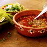 How to make Mexican Menudo | A vegan recipe that everyone will love! #veganmexican #mexicanmenudo #menudo #vegan #mexicanmademeatless #soups #hungoverfoods #videorecipes
