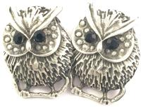 Sterling Mexico Owl Earrings | Mexican Silver Store ...