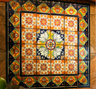 Design a Fountain Using Beautiful Mexican Tile | Mexican ...