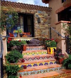 using mexican tile outdoors in cold or
