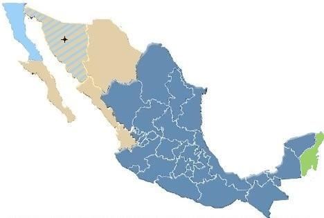 Zeitzonen in Mexiko