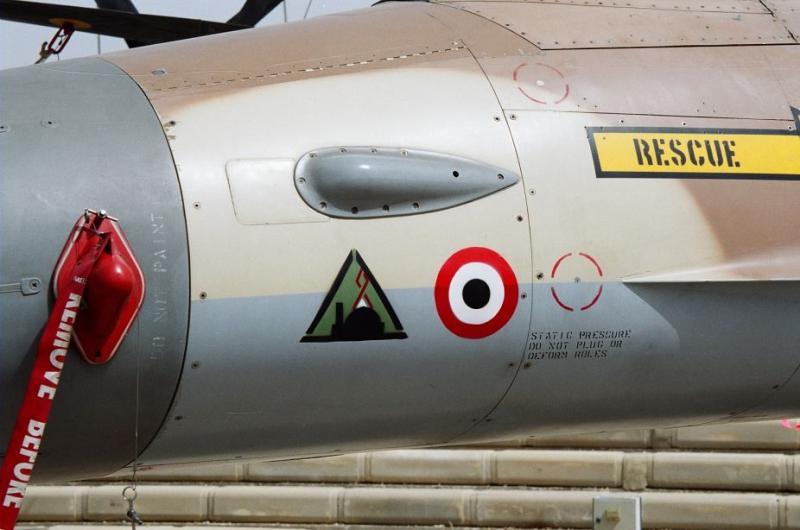 F-16 A con la marca del ataque a Osirak y el derribo de un Avion Sirio, Jan Honců.