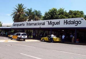 Guadalajara airport is only 30 minutes away