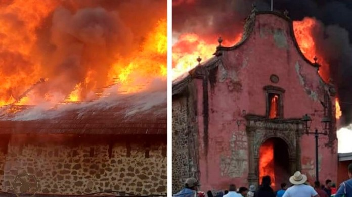 Nurio, Michoacan fire ignites debate in Mexico over heritage budgets