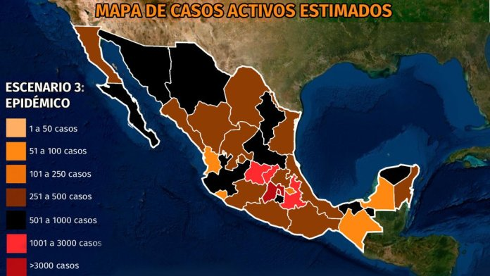 Map of coronavirus in Mexico April 2: the five states with the highest mortality from COVID-19