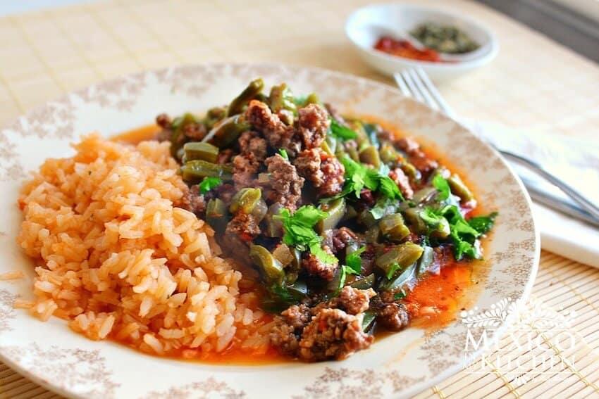 Cmo hacer Nopales con carne molida Recetas de Comida