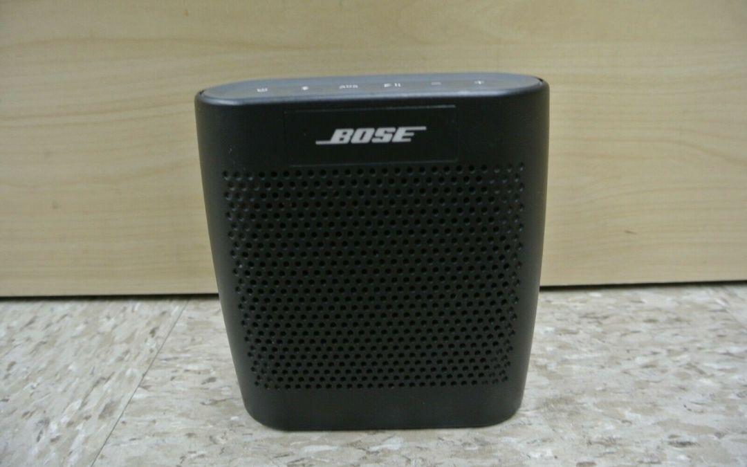 Altavoz Bluetooth Bose SoundLink Color – Negro, modelo 415859