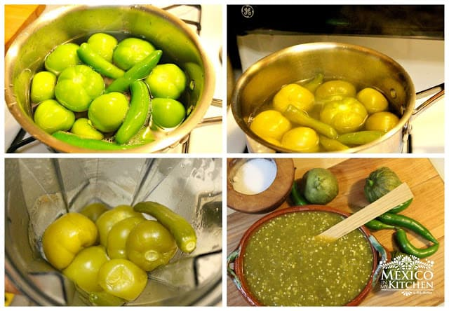 salsa verde recipe step by step photo tutorial