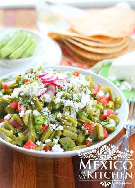 Nopales salad recipe
