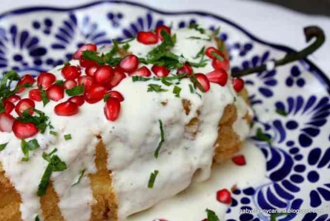 Chiles en Nogada Traditional