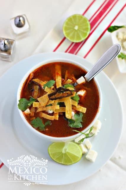 Tortilla soup authentic recipe